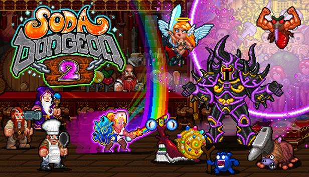 Partez à la recherche du soda ultime pour vos aventuriers dans Soda Dungeon 2, disponible en accès anticipé sur Android