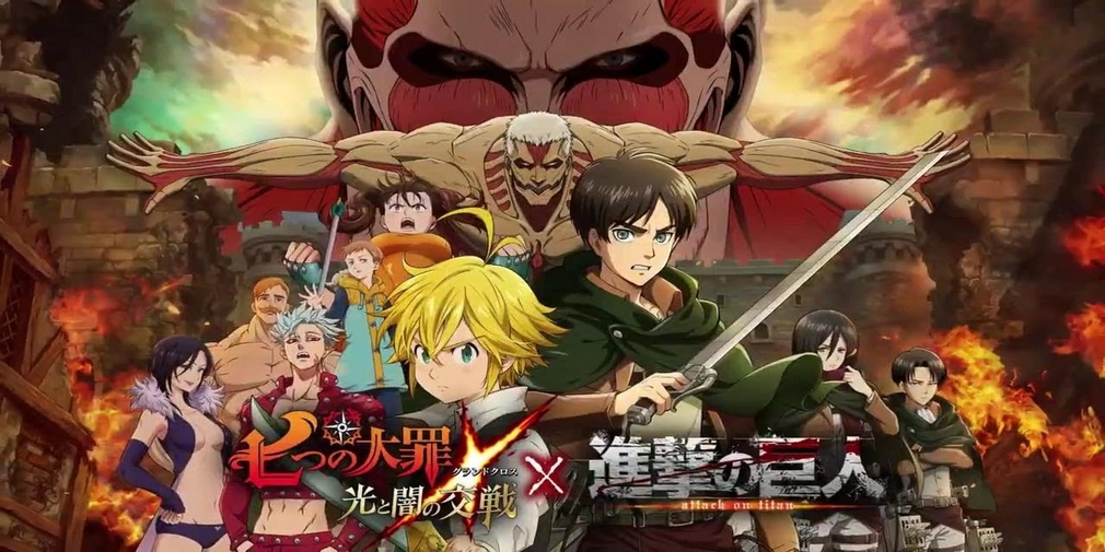 The Seven Deadly Sins : Grand Cross lance sa collaboration avec L'Attaque des Titans