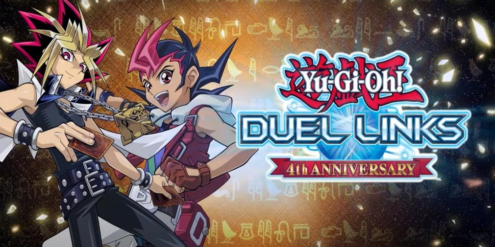 Des tas de cadeaux pour les quatre ans de Yu-Gi-Oh! Duel Links