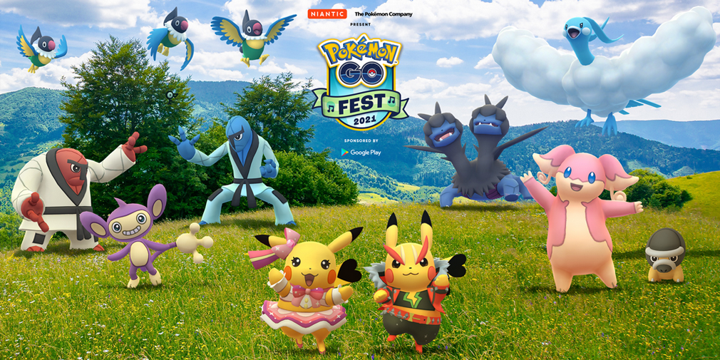 Le Pokémon GO Fest 2021 dévoile son programme