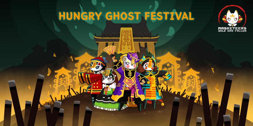 Masketeers : Idle Has Fallen lance son nouvel événement, le Hungry Ghost Festival