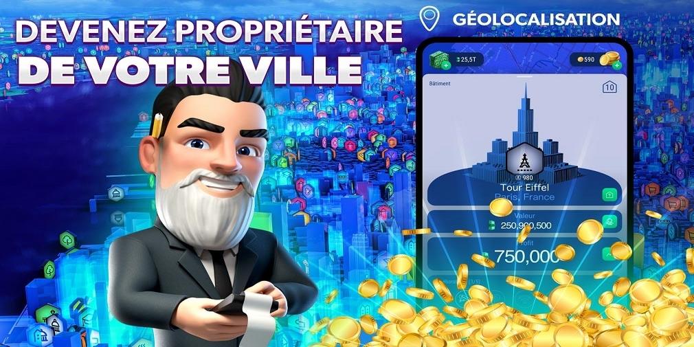 Landlord GO, le jeu de simulation de gestion immobilière de Reality Games utilisant de véritables données, permet désormais d'acheter des parts de villes