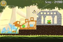 Angry Birds dispo sur WebOS - PSP Mini et film en préparation