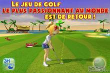 Test de Let's Golf 3 sur iPhone / iPad