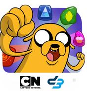 Adventure Time rencontre Puzzle Quest