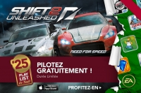 Need for Speed SHIFT 2 gratuit sur iPad