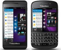 Les BlackBerry Z10 et Q10 annoncés