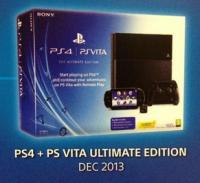 Sony annonce un pack PS4/PS Vita pour Noël