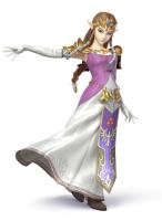 Zelda dans Super Smash Bros 3DS