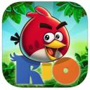 Test flash de Angry Birds Rio
