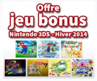 Un jeu gratuit sur 3DS avec Nintendo